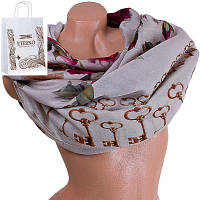 Женский хлопковый шарф 182 на 87 см  eterno (ЭТЕРНО) es0908-3-1