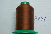 Нитка №40 (1000 м.) «Титан» колір  2741 коричневий