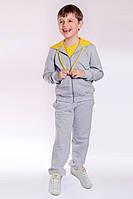 Детский спортивный костюм для мальчика желтый, фото 1