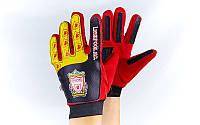 Перчатки вратарские юниорские LIVERPOOL FB-0028-06