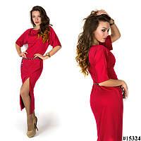 Платье 15324 (Красное)