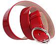 Практичний червоний жіночий ремінь Dori red108 ДхШ: 120х4 см, фото 2