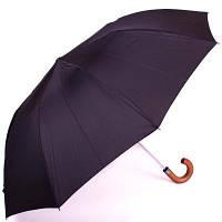 Мужской механический зонт zest z42540 черный на два сложения