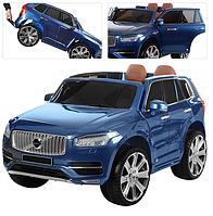 Детский электромобиль M 3278EBLRS-4 синий джип Вольво
