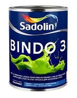 Краска матовая латексная BINDO 3 SADOLIN, 10л.