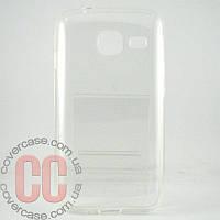Чехол-накладка TPU для Samsung Galaxy J1 mini (прозрачный)