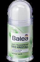Дезодорант универсальный (ж/м) без запаха, гипоалергенный Balea Deo Kristall Aloe Vera