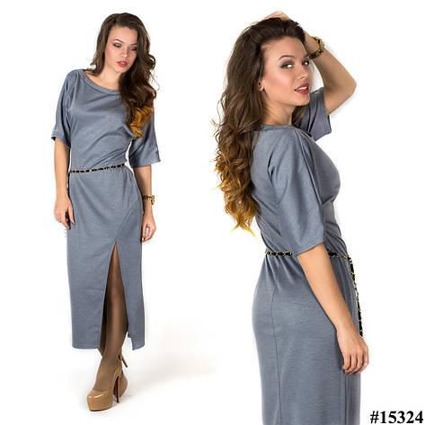 Платье 15324 (Серое), фото 2