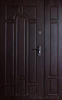 """Двери входные металлические с МДФ (Украина), модель Классик-Арка, ТМ """"ФОРТ"""" ПРЕМИУМ ВИНОРИТ 1200мм, фото 1"""