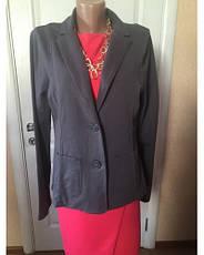 Пиджак женский  больших размеров серый синий    весна-летоS.Oliver, фото 3