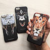 Пластиковый чехол Marcelo Burlon лев для iPhone 7, фото 2