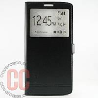 Чехол-книжка с окошками для LG V10 (черный)