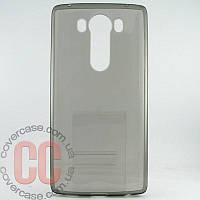 Чехол-накладка TPU для LG  V10 (серый)