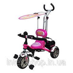 Дитячий триколісний Велосипед M 5339 Винкс (рожевий)