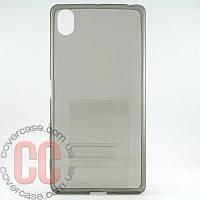Чехол-накладка TPU для Sony Xperia X (серый)