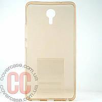 Чехол-накладка TPU для Meizu M3 Max (золотой)