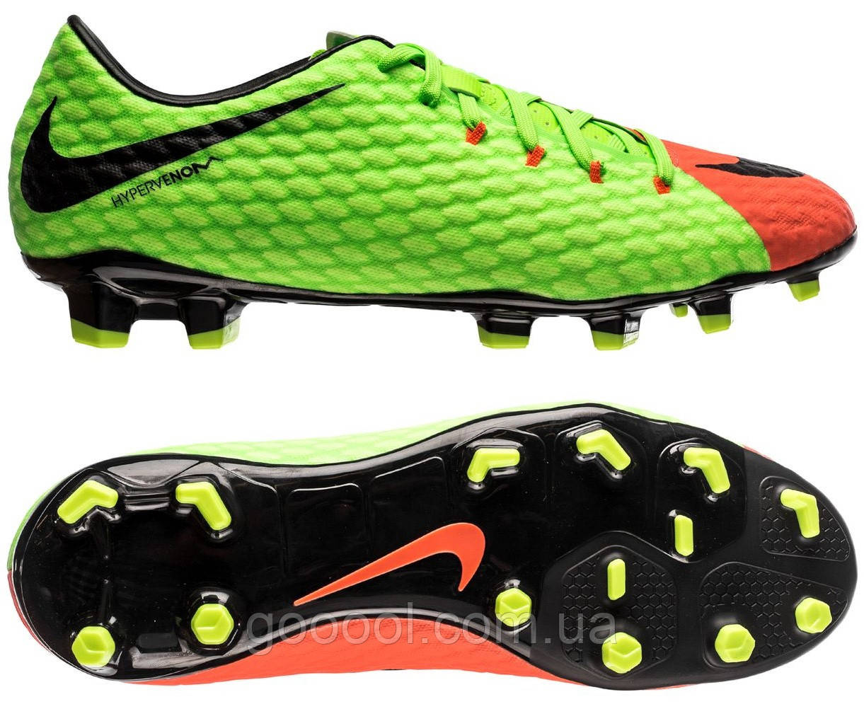 Футбольные бутсы Nike Hypervenom Phelon III FG 852556-308 - ГООООЛ›  спортивная и футбольная 08aceaf7126