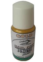 Краска для ногтей PREMIUM* Nail-Art* Золото