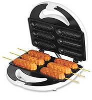 Гриль для приготовления домашних хот-догов (сосисочница, hotdogger) – Хотдогер на 6 сосисок