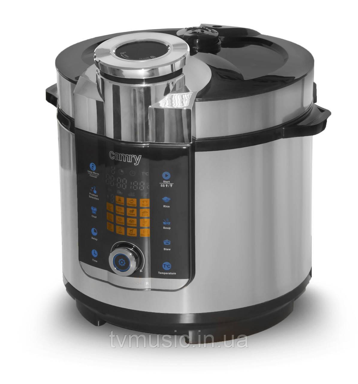 Мультиварка-скороварка Camry CR 6408