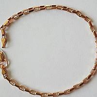 Золотой браслет (Якорное). Артикул 317002