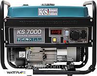 ⭐ Генератор бензиновый (5,5 кВт) Könner&Söhnen KS 7000