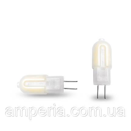 EUROLAMP LED Лампа G4 пластик 2W 3000K 220V (LED-G4-0227(220)P), фото 2
