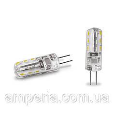 EUROLAMP LED Лампа G4 силикон 2W 3000K 12V (LED-G4-0227(12))