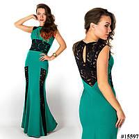 Бутылочное платье 15597