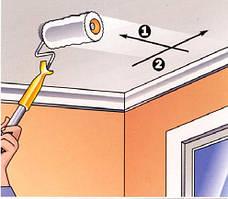 Красим потолок без разводов: простые секреты