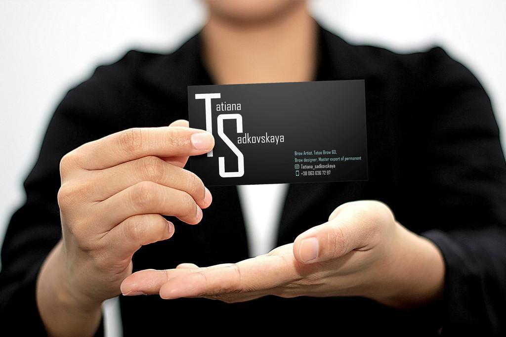 Печать и производство визиток 17