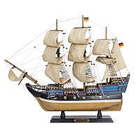 Масштабная модель парусной яхты 52 см