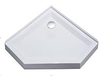 Пятиугольный акриловый душевой поддон Volle 10-22-1010