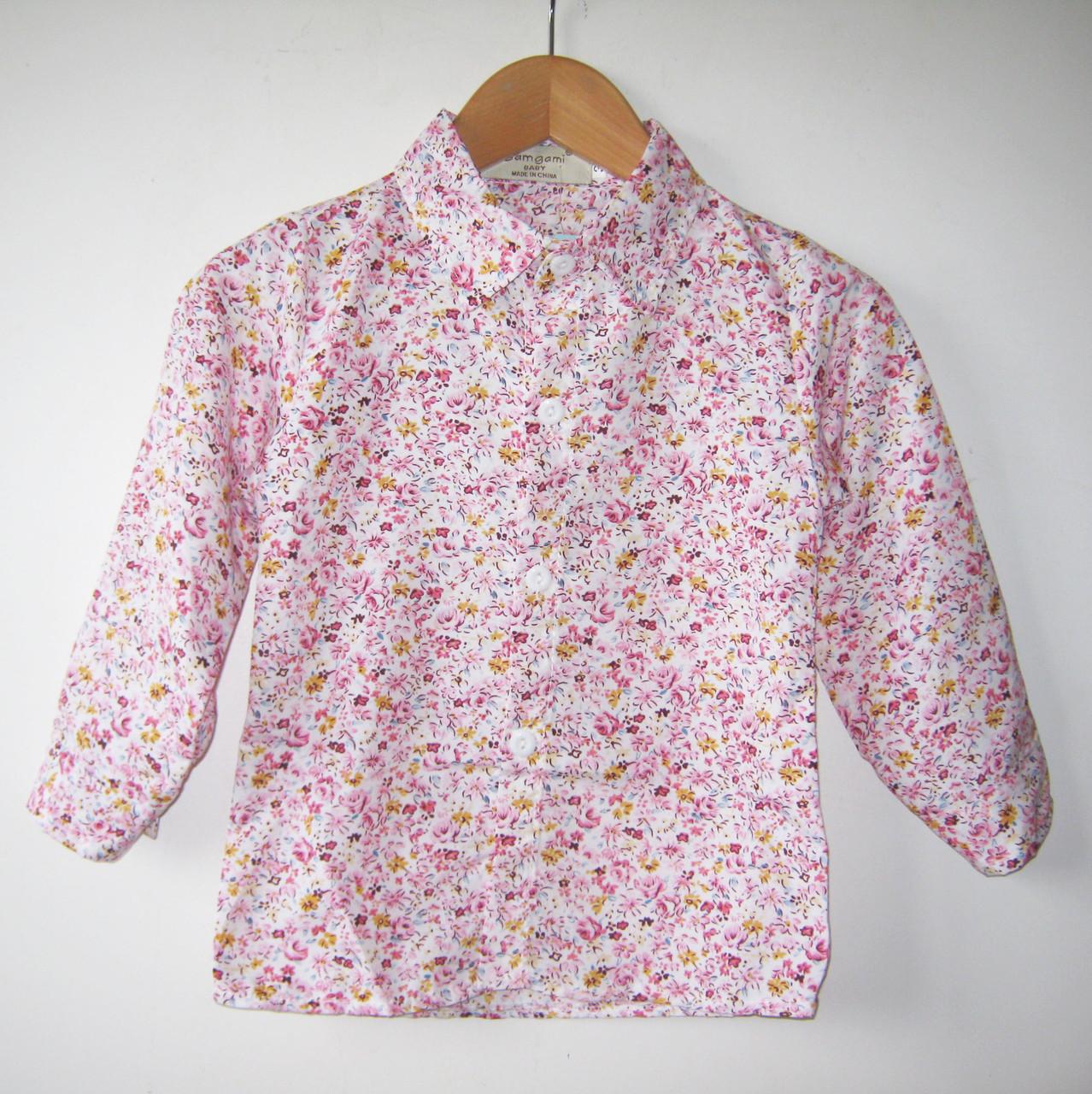 Нарядная рубашка для мальчика, модной расцветки