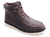 Мужские ботинки натуральн.кожа SH26 BROWN