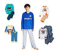 Пижамы детские для мальчиков Разные модели и цвета