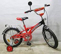 Детский велосипед EXPLORER 16 T-21613 orange + black***