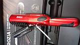 Беспроводная аккумуляторная машинка для стрижки секущихся кончиков волос в чехле, фото 3