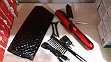 Беспроводная аккумуляторная машинка для стрижки секущихся кончиков волос в чехле, фото 6