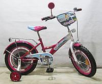 Детский велосипед Стюардеса 16 T-21626 dark crimson + white***