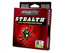 Шнур плетеный Spiderwire Stealth Braid 0.12
