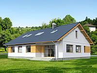 Проект дачного дома Hd48