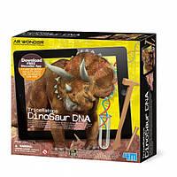 Трицератопс. ДНК динозавра. Набор 4М