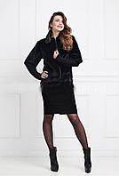 Женский меховой пиджак