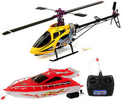 Вертолеты и катера