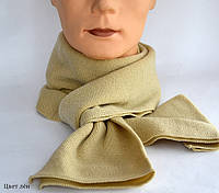 Детский и взрослый шарф  двойной: цвет хаки