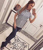 Супер модная рубашка с коротким рукавом