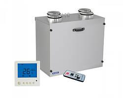 Настенные приточно-вытяжные установки с рекуперацией тепла