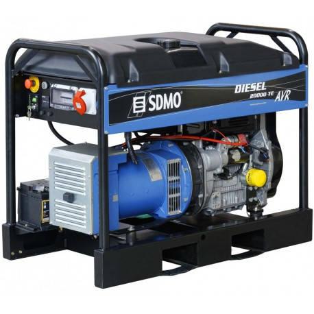 Дизельний генератор SDMO Diesel 20000 TE XL AVR C, фото 2