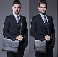 Брендовая мужская сумка Polo. Размер 22.5-26.5-6 см